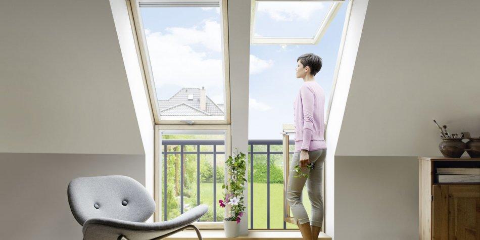 dachfenster balkon cabrio interieur, dachfenster und dachverglasung - sacher holzbau | sacher holzbau, Design ideen